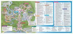 The walt disney world resort opened october 1 1971 in lake buena disney magic kingdom map gumiabroncs Gallery