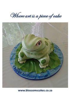 Frog cake.