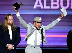 Chance the Rapper's Grammys score big for streaming too - CNET Chance the Rapper beats everybody at selling music without literally selling his music. The Chicago hip-hop artist on Sunday night won three major Grammy awards including best new artist and best rap album (beating out megastars Drake and Kanye West in the latter category). But if your instinct was to check out his Coloring Book on iTunes you hit a dead end. Why? Chance only streams his music. That means no paid downloads or CDs…