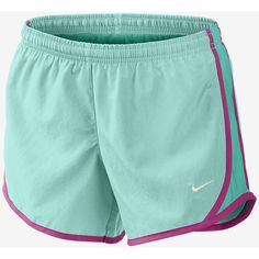 """The Nike 3.5"""" Tempo Girls' Running Shorts. ($25) ❤ liked on Polyvore featuring shorts and nike"""