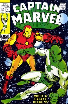 Captain Marvel #14, June 1969, Pencils: Frank Springer, John Romita, Inks:Vince Colletta