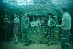 The Sinking World – exposición fotográfica bajo el agua