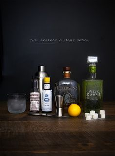 The Sazerac. Bourbon – absinthe – bitters -water – sugar // See ...