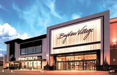 Revitalize a major entrance to an affluent shopping center – create the mood with Lumenpulse. Design Exterior, Facade Design, Mall Design, Retail Design, Retail Architecture, Architecture Design, Building Facade, Building Design, Retail Facade