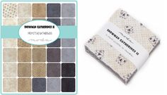 Moda Fabric Snowman Gatherings Charm Pack
