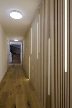 45 Beautiful Wall Led Lighting Designs Ideas - Page 18 of 46 Corridor Lighting, Indirect Lighting, Linear Lighting, Rustic Lighting, Strip Lighting, Interior Lighting, Lighting Design, Design Entrée, Ecole Design