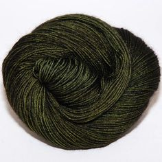 This is such a beautiful color. Ancient Arts Yarns - BFL 4 ply fingering - Lodgepole Pine