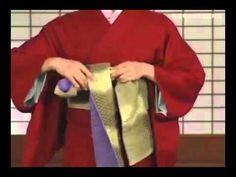 How to wear japanese YUKATA tutorial 3/4 Beauty dressing lesson