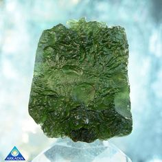 Huge Moldavite with Moonlike Textural by ArkadianCollection