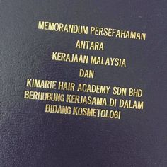 Pleased to announce Kimarie Academy signed an MOU with the Ministry Of Education today to be a provider for cosmetology training. We will be providing training to selected technical colleges. Looking forward to the collaboration! #training #cosmetology #kimarie #kimariesalon http://tipsrazzi.com/ipost/1524462364081445625/?code=BUn-nF0htr5