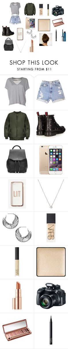 """""""VERONICA MERRELL FOR A DAY"""" by ekomkaleka ❤ liked on Polyvore featuring Acne Studios, GUESS, WearAll, Gucci, rag & bone, Missguided, Shaun Leane, NARS Cosmetics, SUQQU and Estée Lauder"""
