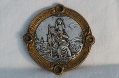 Catawiki pagina online de subastas St Christopher insignia francesa art noveau