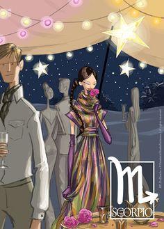 Marie Claire China - Horoscope 2012 by Studio Fantasma , via Behance
