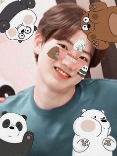 Hello Kitty, Baby Koala, We Bare Bears, Cute Backgrounds, Cute Icons, Treasure Boxes, Kpop Aesthetic, Boyfriend Material, Wallpaper