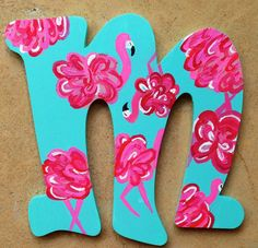 Paint Lilly letters.