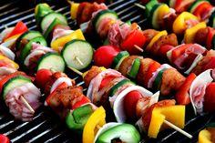 Brocheta de verduras #gastronomy #food #gastronomia #recetas