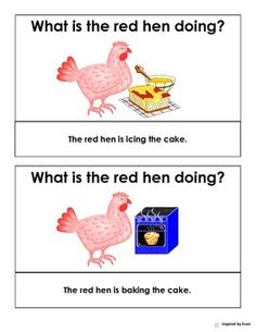 """The Red Hen"" Tasks for Autism"