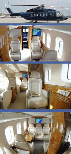 Different than a private jet but still super luxurious and sophisticated. Just to switch things up~~W O W!!