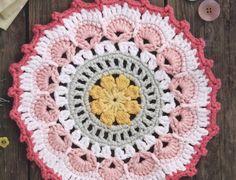 petals and picot mandala