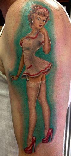 Stunning Pin up Tattoo Ideas