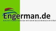 German Grammar - Adjektivdeklination mit dem bestimmten Artikel   L E A R N G E R M A N