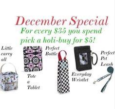 Looking for that perfect gift for that someone who has everything?  Why not try Thirty-One?  Add personalization for that extra special touch.  Feel Free to contact me.  www.mythirtyone.com/75748  ID #75748