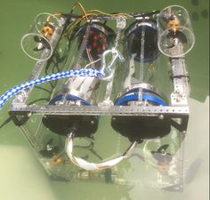 A few motors, propellers, a camera, maybe a wire tether, and some waterproof electronics. Throw it all together and baby you've got an underwater Remotely Operated Vehicle (ROV) cooking! It all sounds...