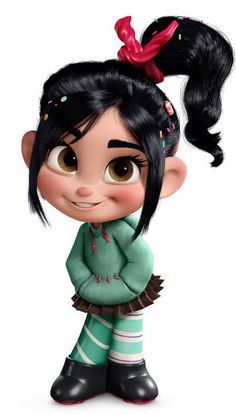 Vanellope von Schweetz - Sugar Rush racer - Wreck-it Ralph --anyone realize that her skrit is a reese's cup inside wraper?-- Vanellope von Schweetz - Sugar Rush racer - Wreck-it Ralph --anyone realize that her skrit is a reese's cup inside wraper? Disney Art, Disney Movies, Walt Disney, Disney Wiki, Disney Pixar, Cute Disney Wallpaper, Cute Cartoon Wallpapers, Movie Wallpapers, Girl Cartoon Characters