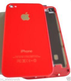 iPhone Backcover 4 in 5C Farben, inkl.Werkzeug,Rot, Deutscher Händler TOP Angebot 11,11€