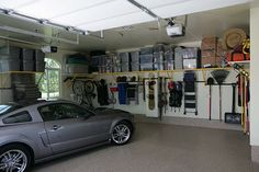 MONKEY BARS GARAGE STORAGE SOLUTIONS..Epoxy floor coatings provide durable protection and a professional appearance for your garage. www.dreamcoatflooring.com