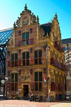 Groningen Goudkantoor. The Netherlands