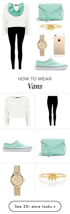 """""""Conjunto 36 : casual, chic"""" by pilar-videla on Polyvore featuring Smartwool, Vans, Apt. 9 and Sydney Evan"""