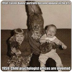 'Easter Bunny' portraits 1958 - https://funnystuff.today/easter-bunny/