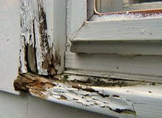 How to Repair Dry Rot in a Window Sill • Ron Hazelton Online • DIY Ideas & Projects