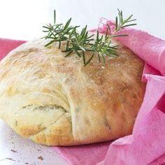 Bramborový chléb s bylinkami Bread, Food, Brot, Essen, Baking, Meals, Breads, Buns, Yemek
