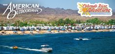Emerald Cove RV Park, Earp, California.  Many good days here with a site right on the shore of the Colorado River.