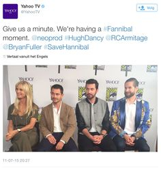 Richard Armitage attends San Diego Comic-Con (SDCC 2015) Hard Rock Hotel on July 11 and 12, 2015 to promote Hannibal/Dolarhyde/RedDragon