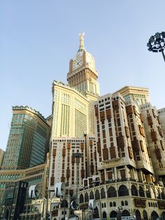 Zamzam tower at Masjidil haram