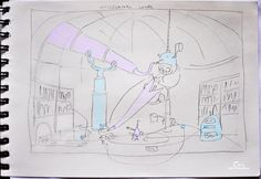 Level sketch of Catie in Meowmeowland (point-and-click adventure game). Game Dev, Indie Games, Teaser, Adventure Game, Drawings, June, Sketch, Twitter, Design