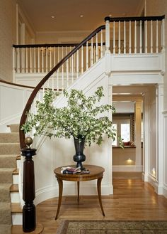 neutral stair runner rugs | neutral stair runner that doesn't compete with foyer rug