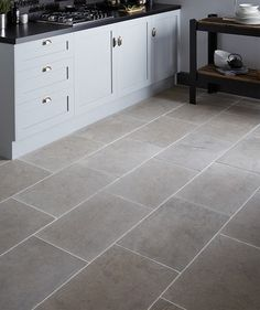 Dorsaf Tumbled Grey solid marble Tile. Tunisian in origin, a cool, grey smooth to the touch tumbled marble. This product is versatile enough to be used in both traditional and contemporary settings. Please note this tile requires sealing. 60 x 40cm. £83m2