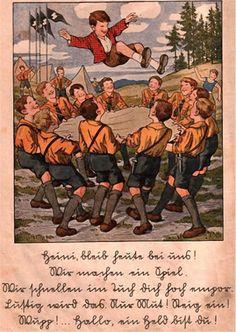 Aus einer deutschen Schulfibel der 30er Jahre, Das Jahr voller Freude.