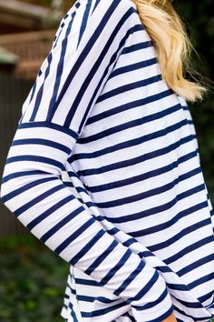 Stripes. I really want more clothes with stripes on them. I really like them.