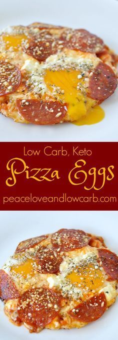 Pizza Eggs - Low Car...