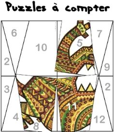 puzzle à compter