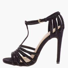 scarpe con tacco e strass KIABI, + ALTRE SCARPE CON ZEPPA KIABI VISITARE IL LINK
