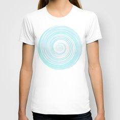 Re-Created Spin Painting No. 5 T-shirt by #Robert #Lee - $18.00 #art #spin #painting #drawing #design #circle