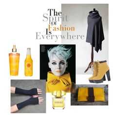 Fashion by mdrozd on Polyvore featuring moda, AX Paris and Versace