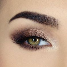 Too Faced Natural Eyes Neutral Eyeshadow Collection, Multi You are in the right place about Make-up artistico Here we offer … Makeup Eye Looks, Eye Makeup Tips, Eye Makeup For Hazel Eyes, Natural Prom Makeup For Brown Eyes, Prom Eye Makeup, Gold And Brown Eye Makeup, Sexy Eye Makeup, Natural Eyeshadow Looks, Subtle Eye Makeup