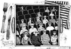 Movie placemats - Margarida Esteves